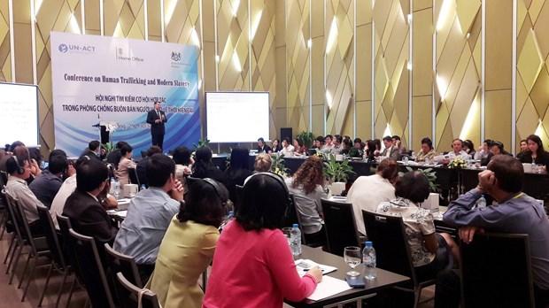 International cooperation key to curbing human trafficking hinh anh 1