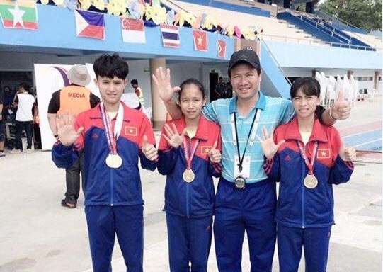 Vietnam tops regional champs for young athletes hinh anh 1