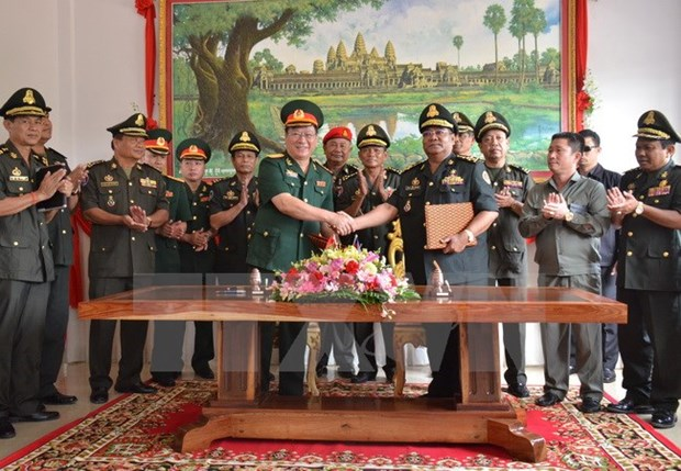 Defence Ministry builds new office building for Cambodian army hinh anh 1
