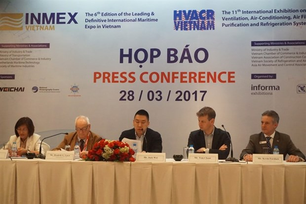 HCM City hosts maritime industry, refrigeration technology expos hinh anh 1