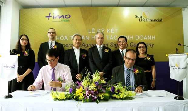 Sun Life Vietnam signs up with GOFS hinh anh 1
