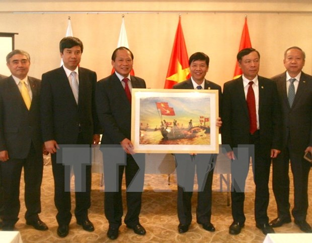 Ministry presents photos, films for information campaigns in Japan hinh anh 1