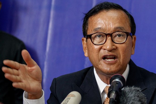 Cambodia: Sam Rainsy sentenced to 20 months in jail hinh anh 1