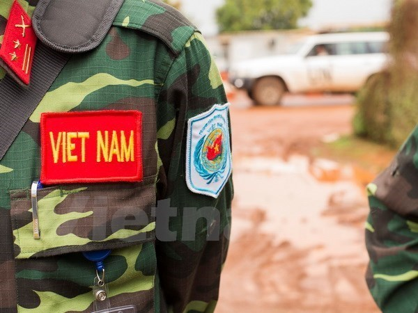 Vietnamese peacekeepers receive training hinh anh 1