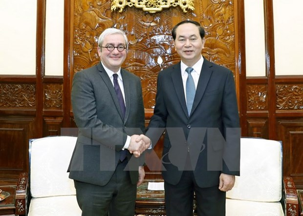 President receives AFP Chairman hinh anh 1