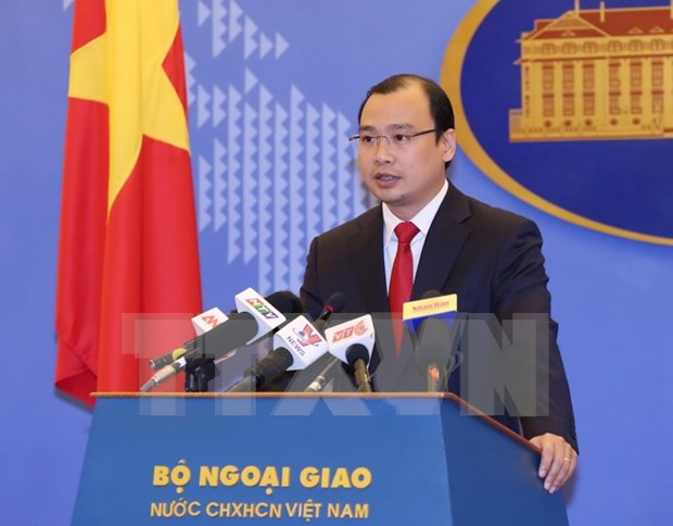 Vietnam protests Taiwan (China)'s live-fire drill in Vietnam's waters hinh anh 1