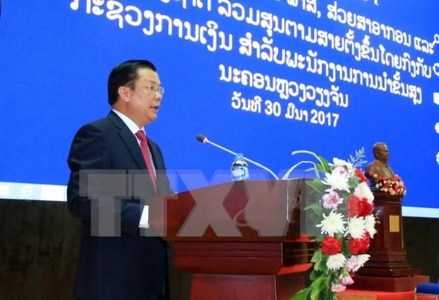 Vietnam, Laos talk financial management experience hinh anh 1