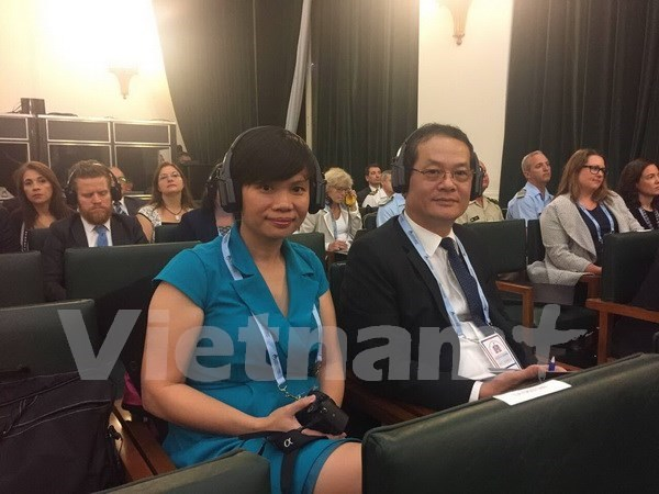 Vietnam attends safe school conference in Argentina hinh anh 1