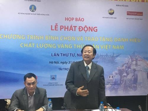 Selection of Vietnam's best aquatic products kicks off hinh anh 1