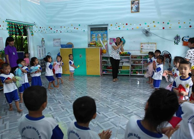 Vietnamese kindergartens suffer from lack of support hinh anh 1