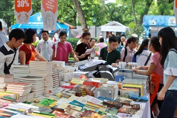 Fourth Vietnam Book Day to display 40,000 book titles hinh anh 1