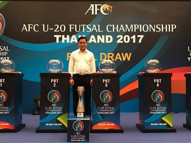 Vietnam to play Japan in U20 futsal champs hinh anh 1