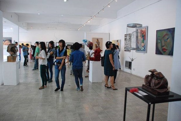 HCM City to host fine arts exhibition for young artists hinh anh 1