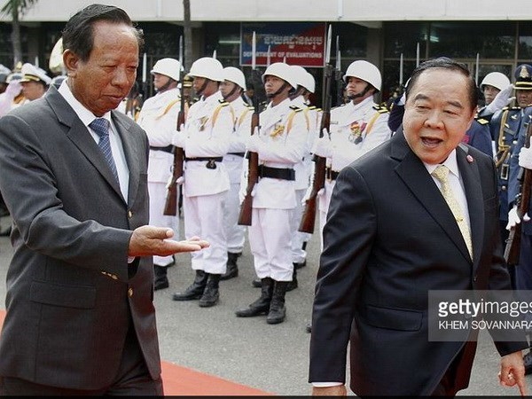 Thailand, Cambodia defence ministries set up hotline hinh anh 1