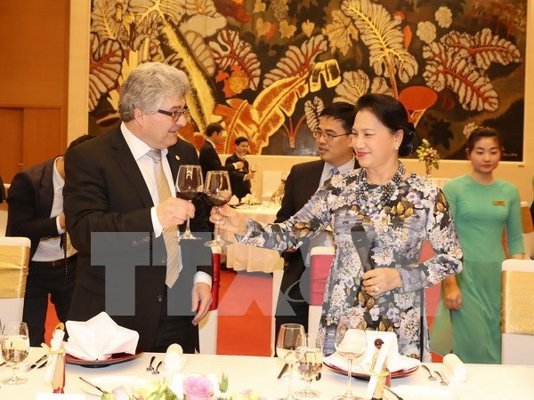 President of Swiss Council of States wraps up Vietnam visit hinh anh 1