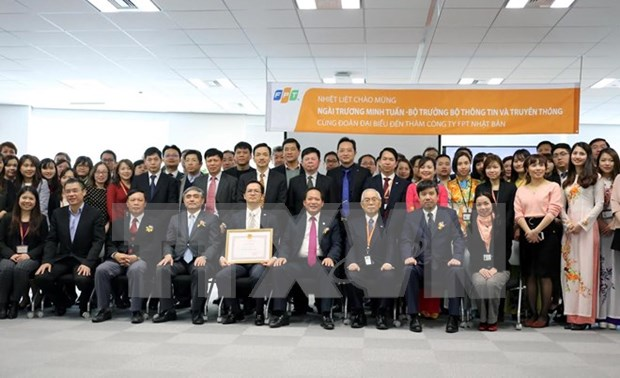 Vietnam's FPT Japan hailed for strengthening bilateral ties hinh anh 1