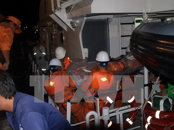 Bodies of nine crewmen of sunken Hai Thanh 26 ship found hinh anh 1