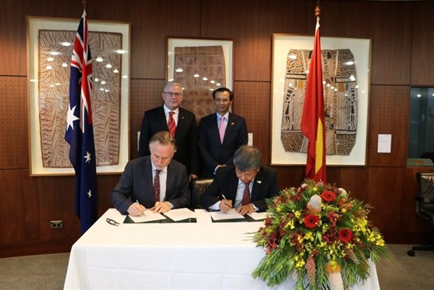 Vietnam-Australia cooperation focuses on economic partnership hinh anh 1