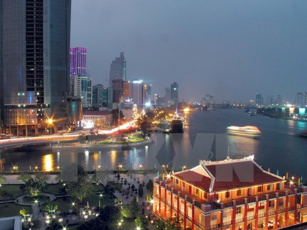 HCM City maintains high growth rate in Q1 hinh anh 1