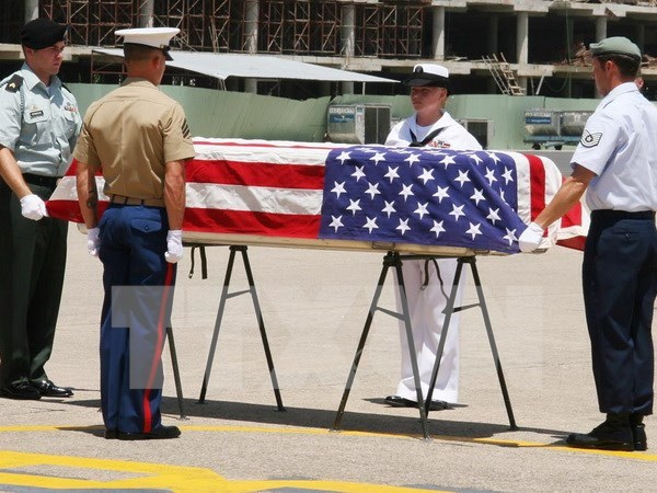 Remains of US missing servicemen returned hinh anh 1