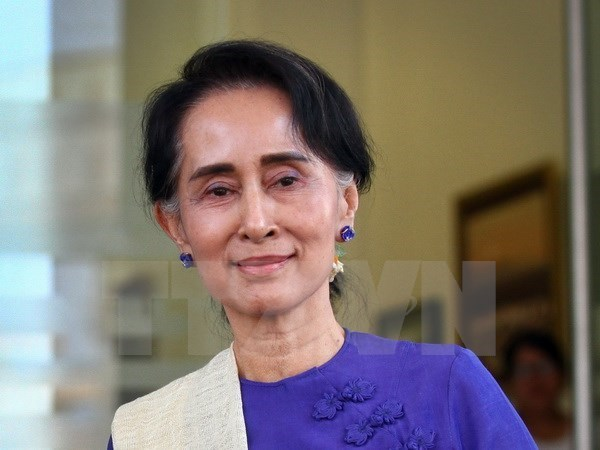 Myanmar's ruling party wins half in by-elections hinh anh 1