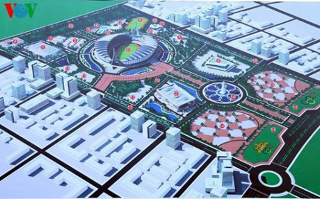 Cambodia inaugurates sport complex for SEA Games 32 hinh anh 1