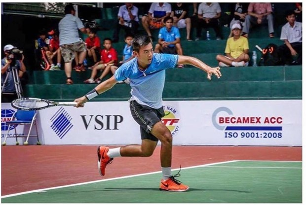 Top Vietnamese tennis ace jumps 39 spots in world rankings hinh anh 1