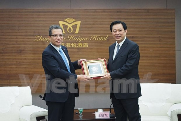 Embassy works to foster Vietnam's economic links with China's Hebei hinh anh 1