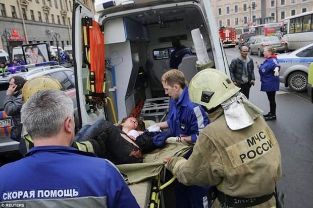 Condolences to Russia over subway blast hinh anh 1