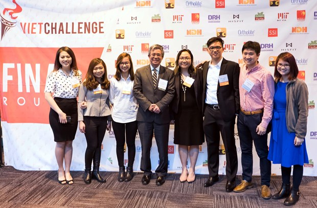 Entrepreneurship competition for Vietnamese held in US hinh anh 1