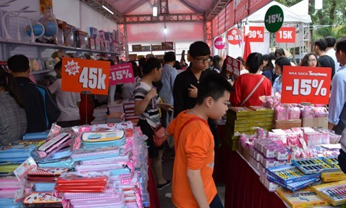 Fourth Vietnam Book Day opens in Hanoi hinh anh 1