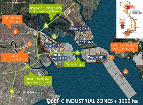 Dinh Vu IZ targets green development hinh anh 1