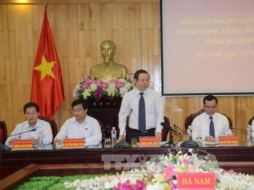Ha Nam praised for high economic growth hinh anh 1