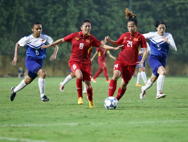 Vietnam trounce Singapore 8-0 in Cup qualifier hinh anh 1