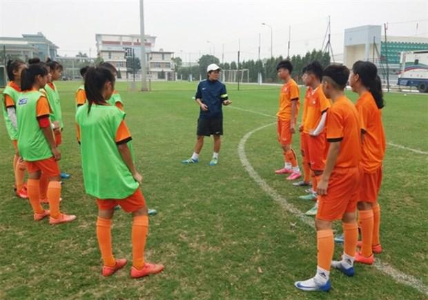 U15 football team convenes for AFF football event hinh anh 1