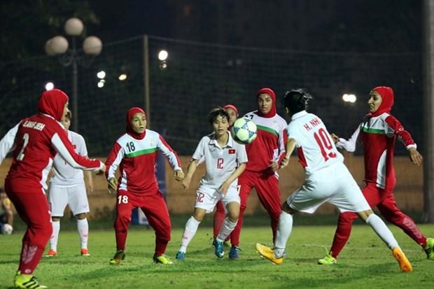 Vietnam beats Iran 6-1 in Women's Asian Cup qualifier hinh anh 1