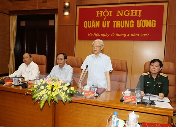 Central Military Commission mulls over upcoming defence work hinh anh 1