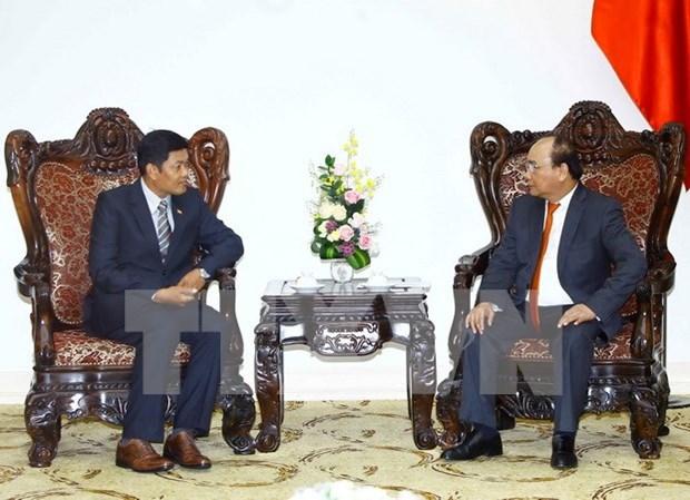 Gov't leader hosts new Myanmar ambassador hinh anh 1
