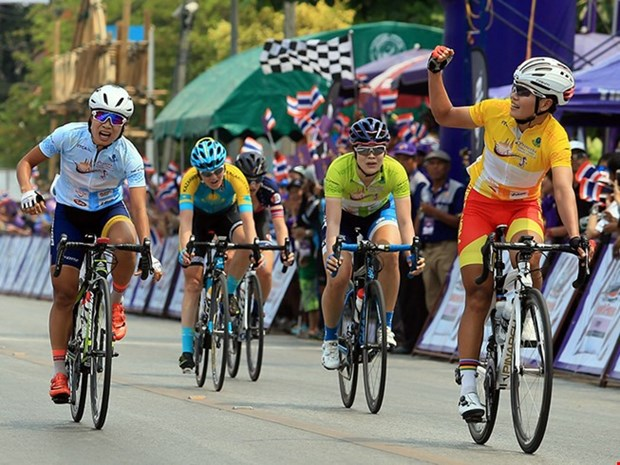 Cyclist places second in Tour of Thailand hinh anh 1