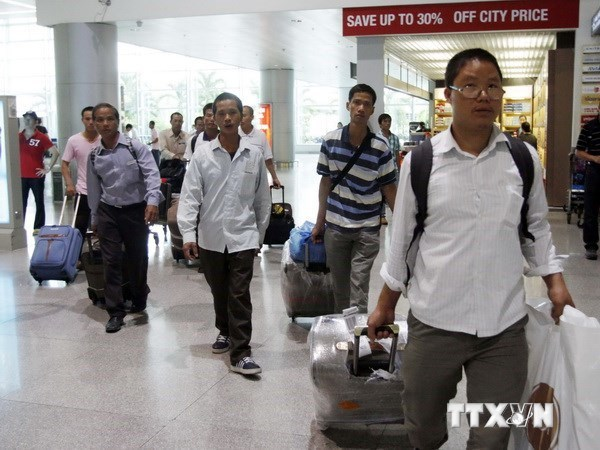 Job fairs held for workers returning from RoK hinh anh 1