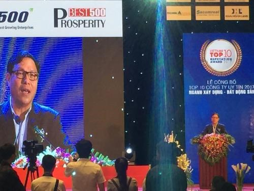 Vietnam's top 500 best growth, prosperity firms revealed hinh anh 1