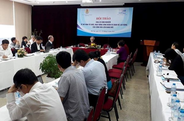 German foundation shares experience in labour relations hinh anh 1
