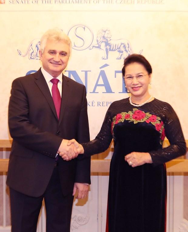 Czech Republic a prioritised partner of Vietnam: top legislator hinh anh 1