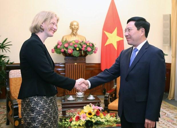 Deputy PM hosts New Zealand Ambassador hinh anh 1