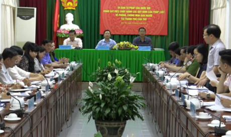 Can Tho asked to foster human trafficking fight hinh anh 1
