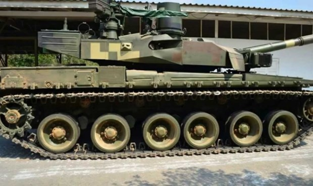 Thailand cuts down tanks bought from China hinh anh 1