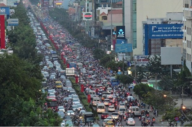 New road near airport set to reduce traffic congestion hinh anh 1