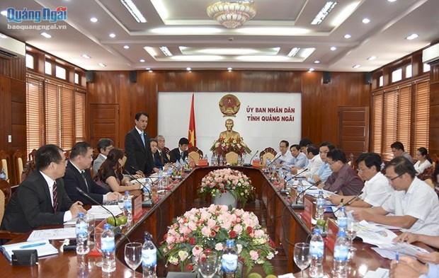 Japan firm to build Quang Ngai power plant hinh anh 1