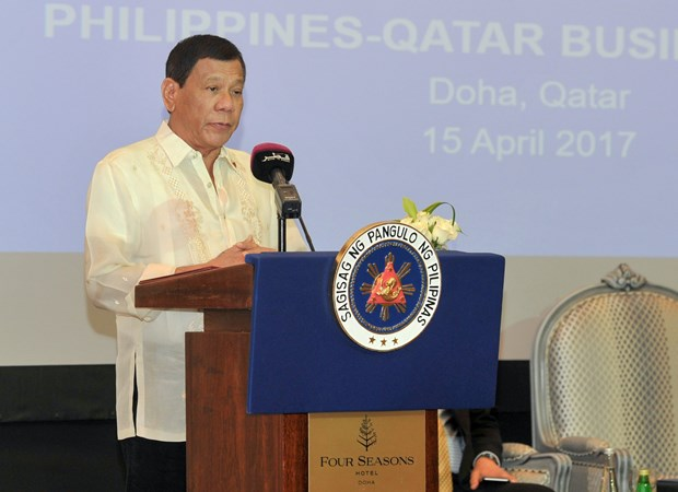 Philippines, Qatar sign 13 trade agreements hinh anh 1
