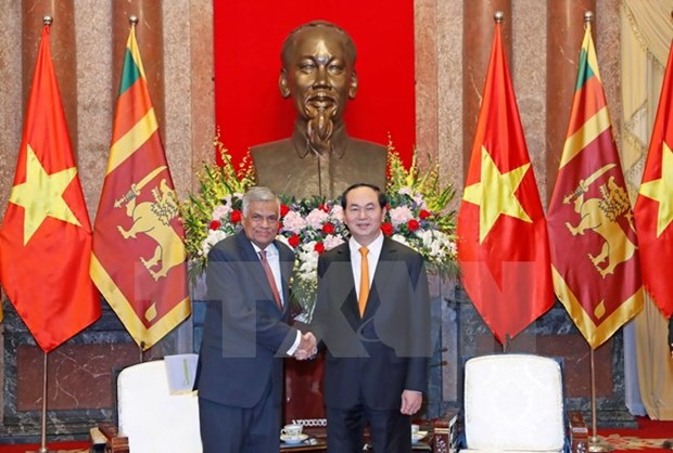 President reiterates Vietnam's policy of valuing ties with Sri Lanka hinh anh 1